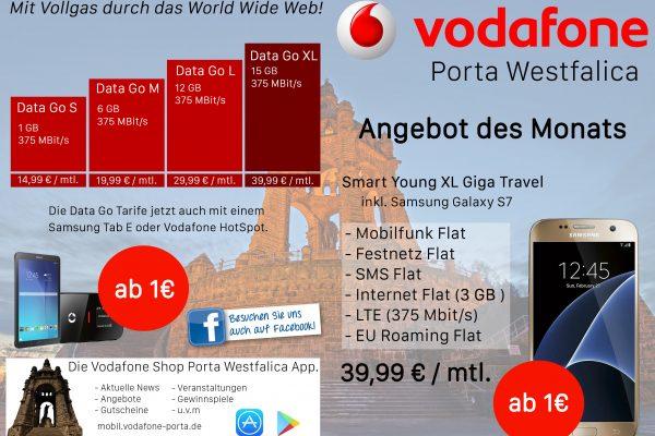 Vodafone Porta Westfalica Flyer